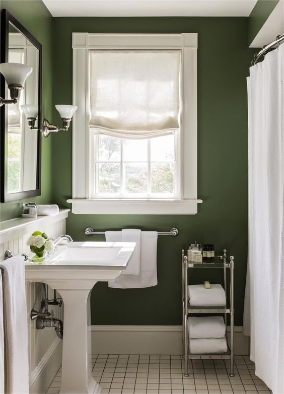Green and White - Simplistic and Superb
