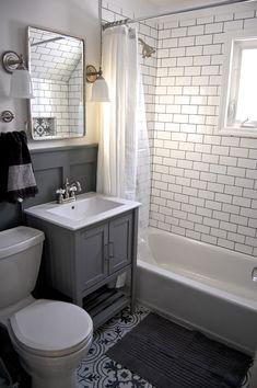Squeeze in Everything - Small Bathroom Design Ideas