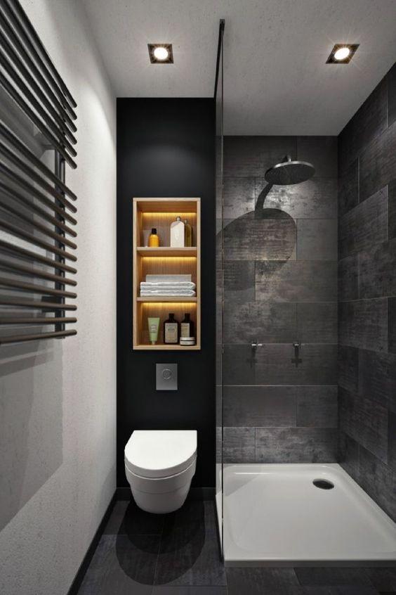 An Elegant Design - Small Bathroom Design Ideas