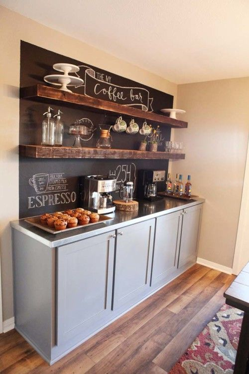 A Kitchenette for Coffee - Great for Coffee Lovers