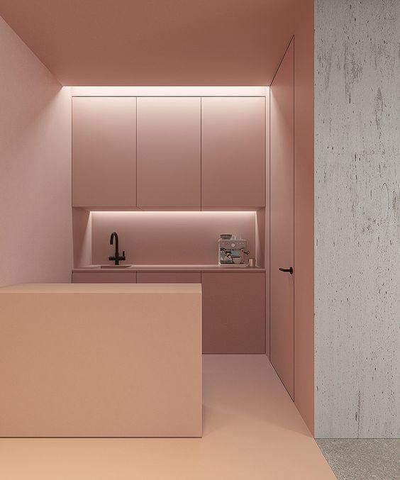 Perfect in Pink - Modern Kitchen Design Ideas