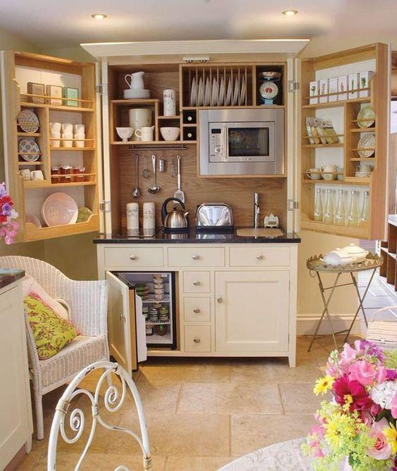 A Whole Cupboard – An Awesome Kitchenette
