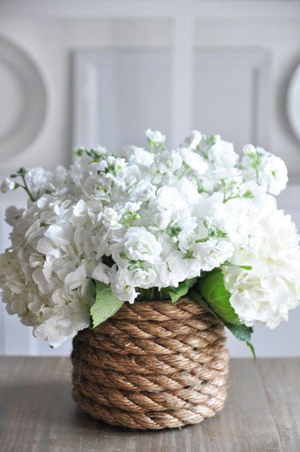 Wrap Around Some Rope - Create a Unique Vase