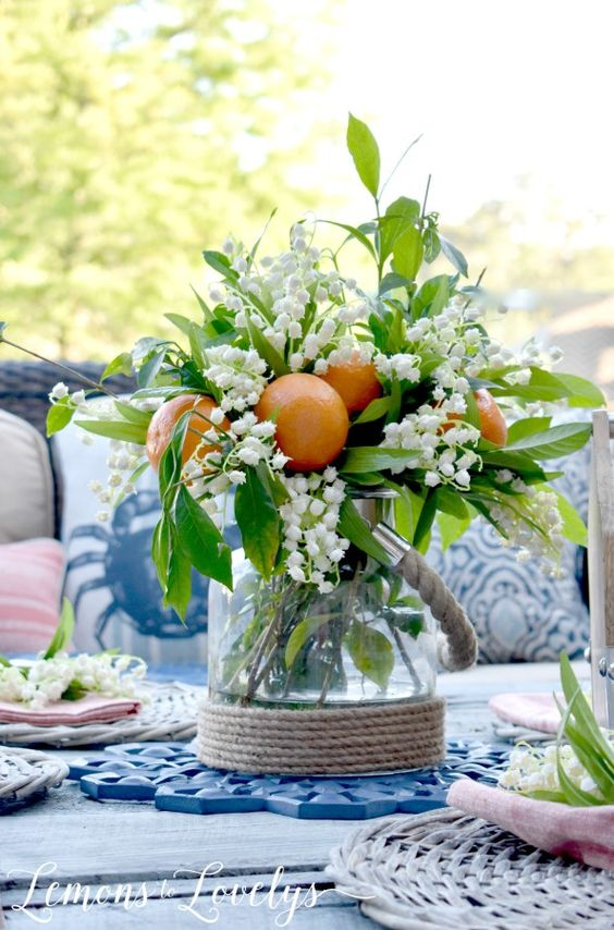 Fantastic with Fruit - Summer Table Decorations