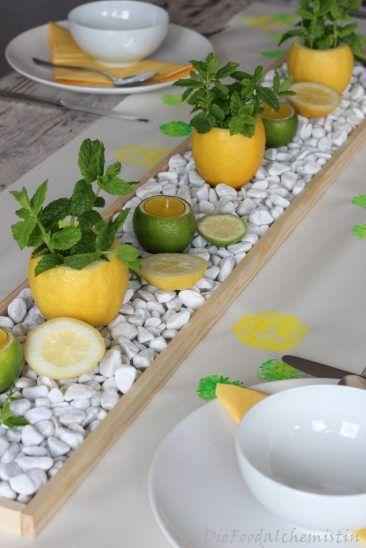 Citrus Planters - And Candle Holders