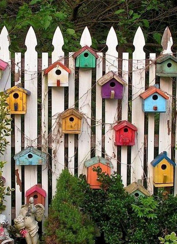Colourful Birdhouses – Summer Garden Ideas