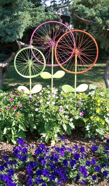 Bicycle Flowers - Creativity at Its Best