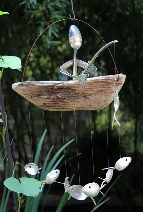 Bending Spoons – Garden Decoration Ideas for Summer