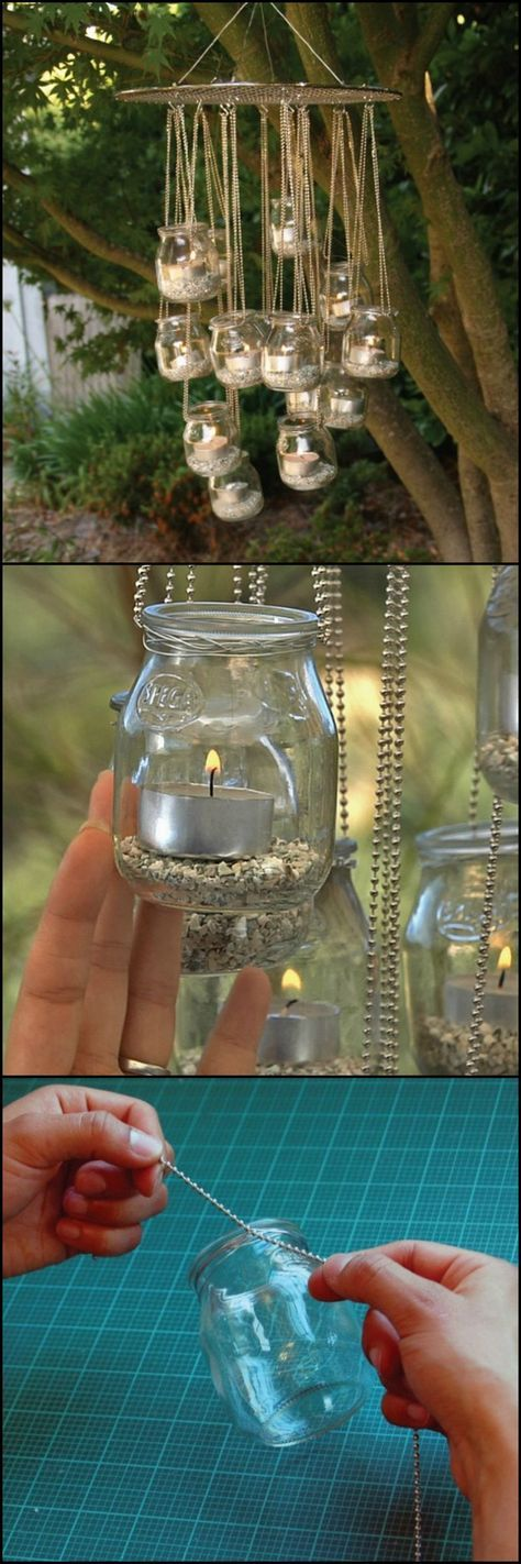 Hanging Candles – For a Romantic Ambience