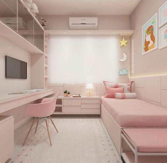 Simplistic and Modern - Girls Bedroom Decor Ideas