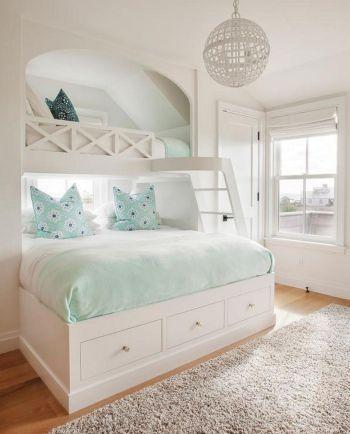 A Bunk Bed on Top - Pretty and Cute