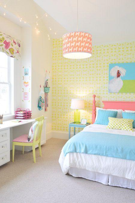Youthful and Vibrant - Girls Bedroom Decor Ideas