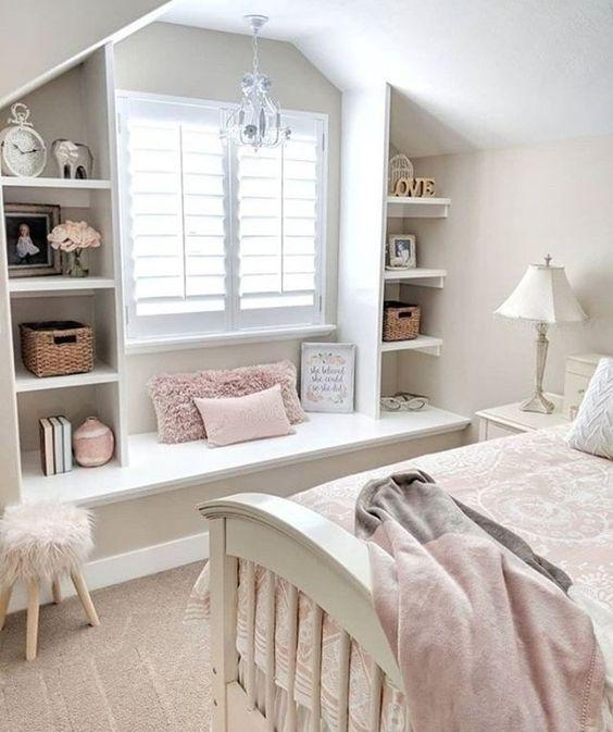 Using White - Teenage Girl Bedroom Ideas for Small Rooms