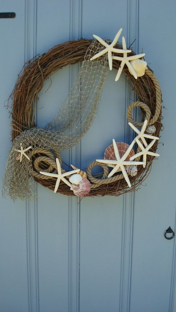 Seaside Vibes - Summer Wreaths for Front Doors