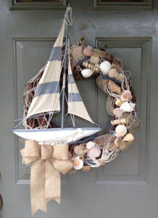 Sailing the Seas - Another Nautical Wreath