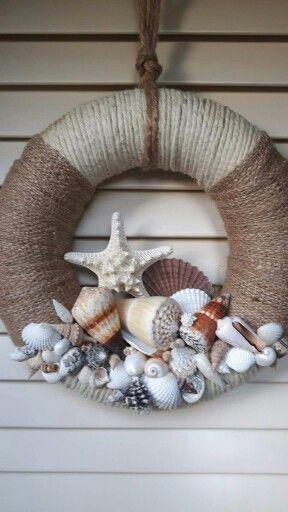 Simplistic with Seashells - Perfect for Summer
