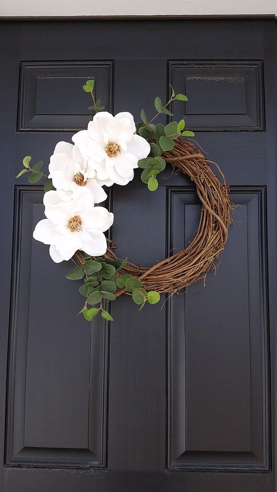 A Few Flowers - Summer Wreaths for Front Doors