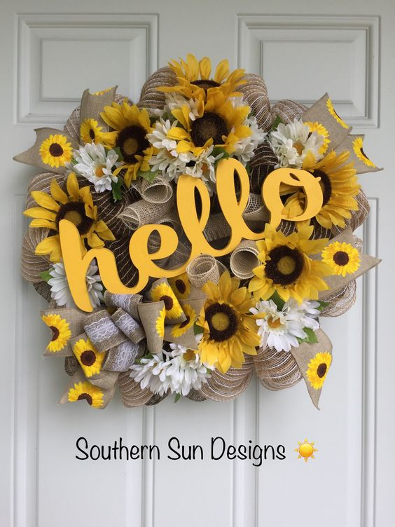 Say Hello to Summer - With Sunflowers