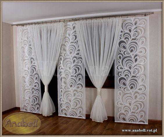 Floral Patterns – Fancy Bedroom Window Curtains
