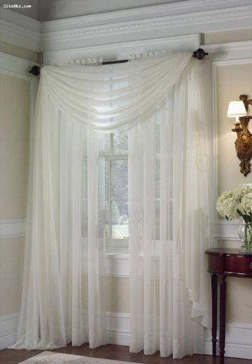 A Simple Twist - Bedroom Curtain Ideas
