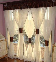 Stylish and Chic - Bedroom Window Curtains