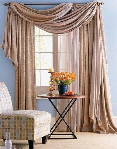 Brown and Cosy – Bedroom Curtain Ideas