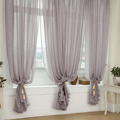 Elegant and Lovely – Bedroom Window Curtains