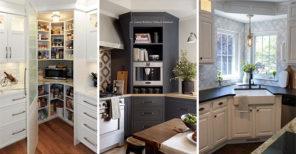 20 CORNER KITCHEN CABINET IDEAS – Kitchen Corner Units