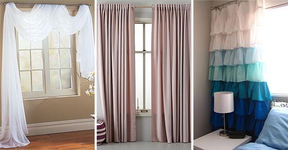 40 BEDROOM CURTAIN IDEAS – Bedroom Window Curtains