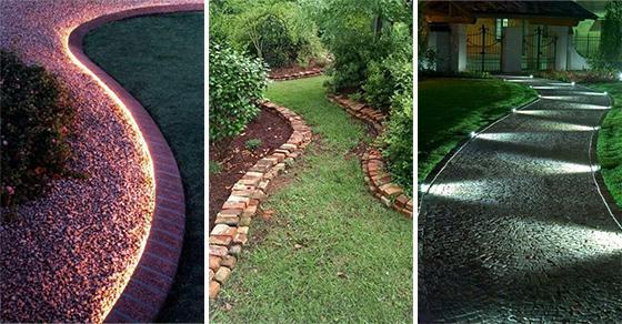 20 EASY GARDEN EDGING IDEAS – Give Garden Edging a Try