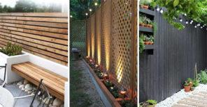20 VERY CHEAP GARDEN FENCE IDEAS – Cheap Fence Ideas for Backyard