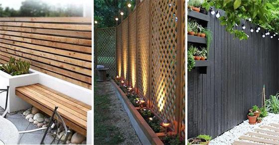 20 VERY CHEAP GARDEN FENCE IDEAS – Cheap Fence Ideas for Backyard