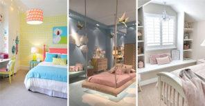 30 GIRLS BEDROOM DECOR IDEAS – Teenage Girl Bedroom Ideas for Small Rooms