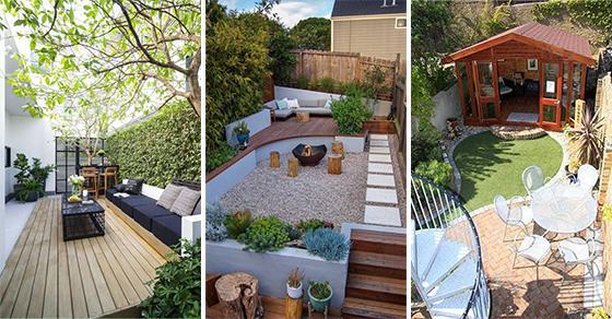 20 VERY SMALL GARDEN IDEAS ON A BUDGET - Small Garden ...