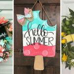 30 SUMMER DOOR WREATHS – Summer Wreaths for Front Doors