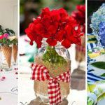 25 SUMMER TABLE DECORATIONS – Summer Table Centrepieces