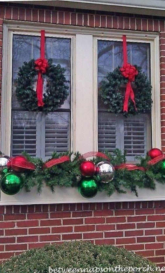 Decorations for Outside - Christmas Window Decorations