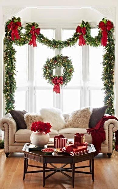 An Essence of the Holidays - Fir Leaves and Wreaths