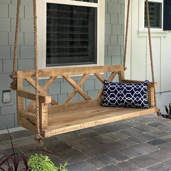 A Porch Swing - DIY Garden Furniture