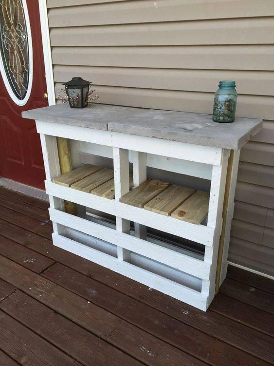 A Mini Table - Great as a Bar