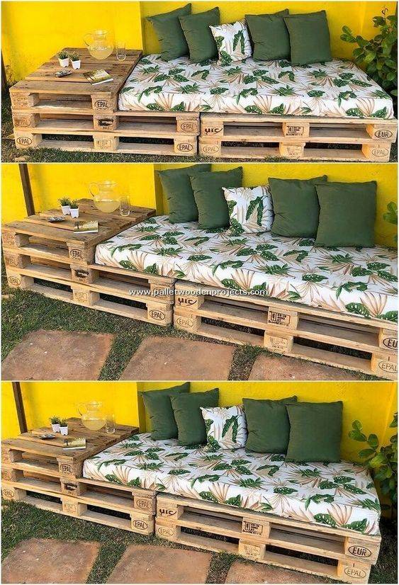 A Comfortable Sofa - DIY Outdoor Wooden Storage Bench