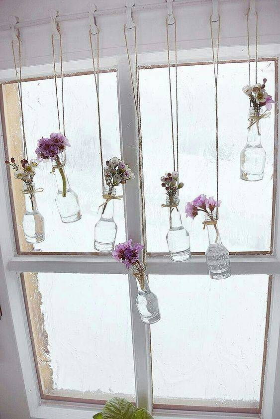 An Array of Hanging Vases - Keep it Simple