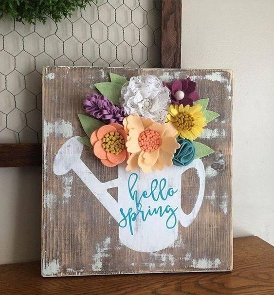 A Warm Welcome - Spring Home Decor