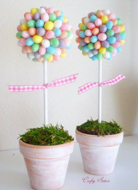 A Chocolate Egg Tree - Cute for Easter