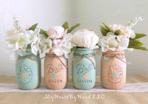 Rustic Mason Jars - Perfect for Any Home