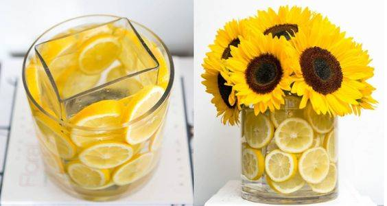 A Beautiful Burst of Yellow - Spring Table Decorations