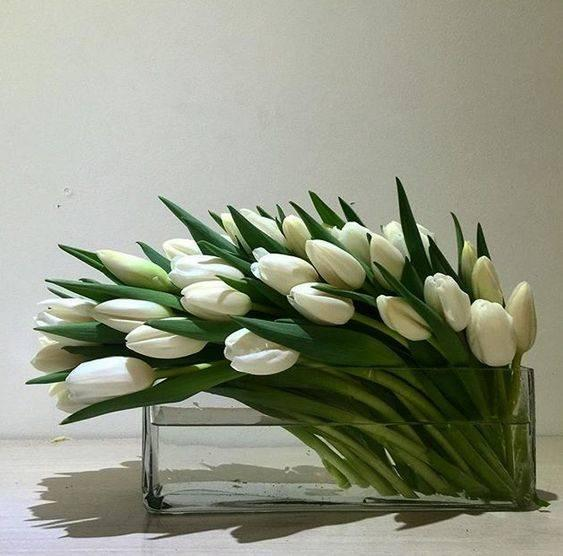 Flowers Swept Away - Spring Floral Table Centrepieces