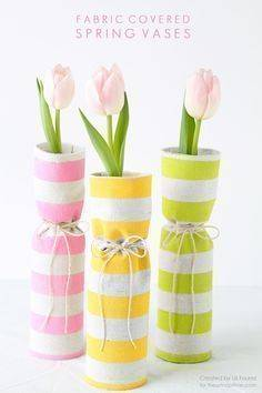 Covered with Fabric - Stylish and Simple