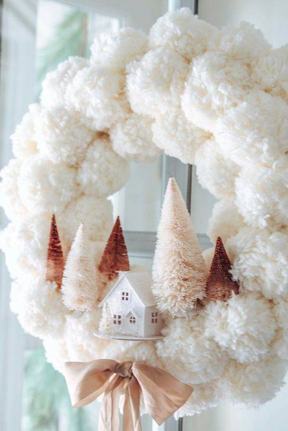 A Winter Wonderland - Made out of Pompoms
