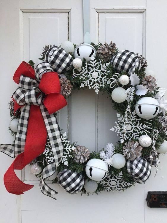 Plaid Ornaments - Have a Very Merry Christmas